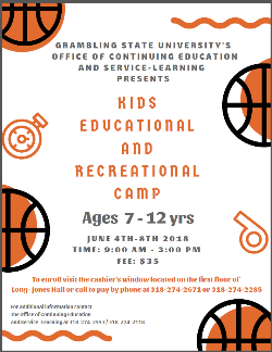 Kids Educational and Recreational Camp