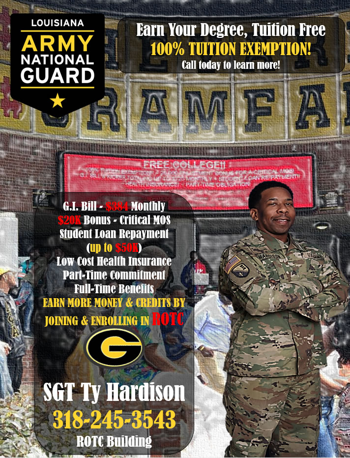 Fall 2019 National Guard ROTC Flyer